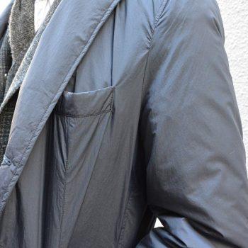 今すぐに着れるコート~Down Chesterfield Coat~