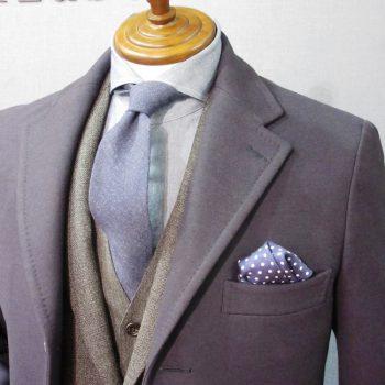 【渋谷】ハイブリッドスーツにあうコートとは?
