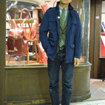 TIMELESS ORDER COAT / M.I.D.A. SIZE ORDER Staff snap④