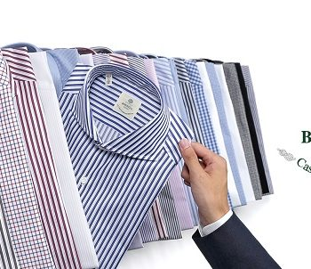 LUIGI BORRELLI シャツ パターンオーダー会のお知らせ。
