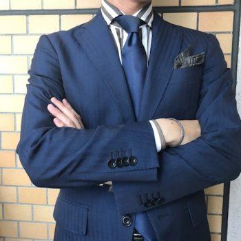 Yokohama Summer Suit Style : NAVY × BROWN