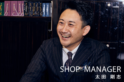 SHOP  MANAGER 太田 剛志