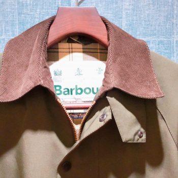 Barbourコートのご紹介