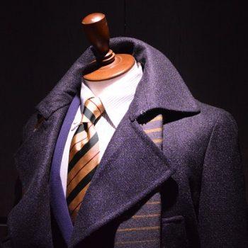 期間限定コートは二刀流。