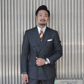 【銀座7】格式あるオールシーズンスーツ!