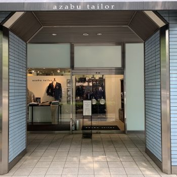 azabu tailor Hakata store is here .