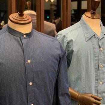 夏の特選素材 リネンシャツ シャツアウター