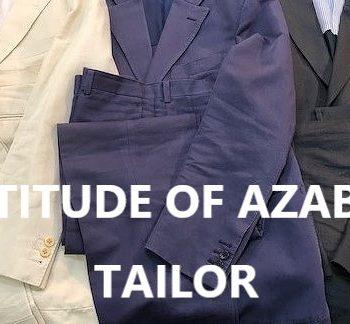 オーダーメイドは、スタイルをつくる。その2 ~ATITUDE OF AZABU TAILOR WATARU TAKAKI~