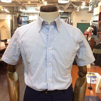 半袖シャツもパターンオーダーシャツフェアで!?