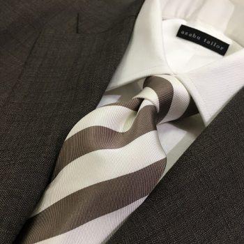 ご自宅でも!格好良いネクタイ