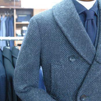 ドレスPコートをオーダーする 冬支度④