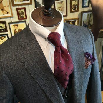 冬支度におススメのネクタイ。