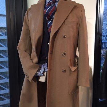 黒、紺、グレイのコートの次は茶色コートがおすすめ【&B 麻布テーラー名古屋】