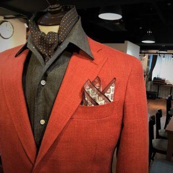 ジャケットで季節の装いを・・・    by NANBA