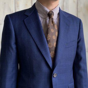 ビジネスで使えるオーダースーツの柄