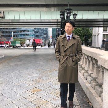 オーダーコートフェア スタッフスナップ トレンチコート編