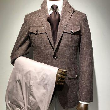 新しいジャケットのご提案~サファリジャケット~