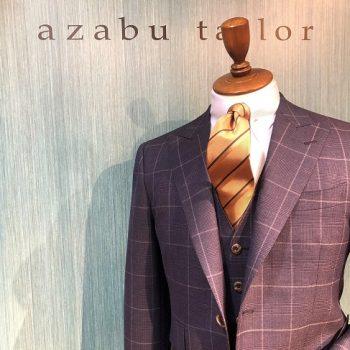 表参道店から春夏スーツ渾身の一着をお届けします