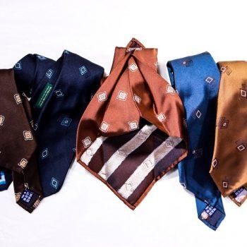 ネクタイの最高級縫製「セッテピエゲ」