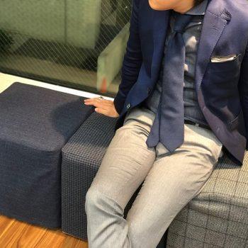 【渋谷オススメ】ジャケパンスタイル