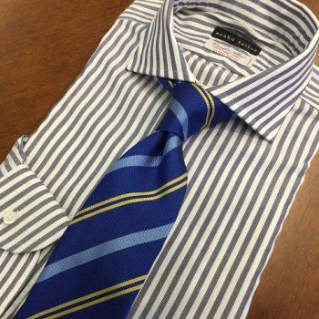 ネクタイから衣替え