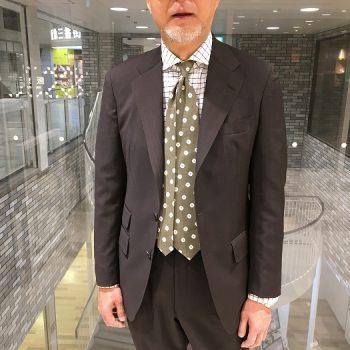 ブラウンスーツ作りました。軽い!