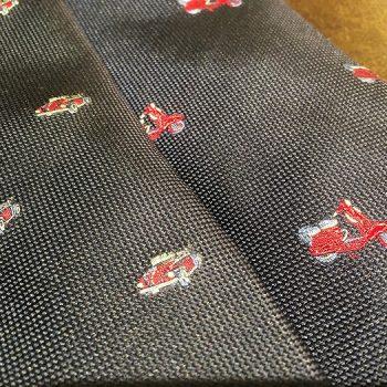 ネクタイも遊び心を・・・